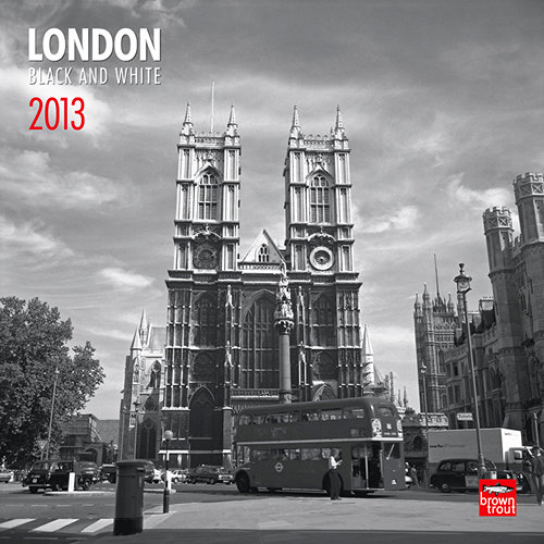 Details zu kalender 2013 london black and white browntrout
